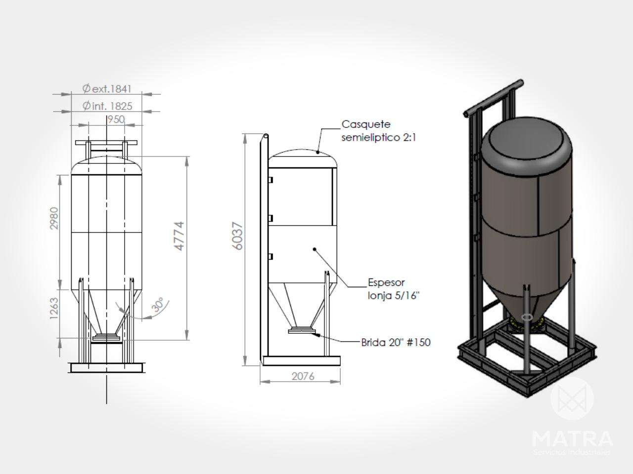 Sistema neumático para densificado